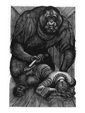 Poe: Rue Morgue, 1841 Giclee Print by Fritz Eichenberg