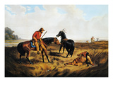 Frontiersman, 1856 Giclee Print by Nathaniel Currier