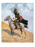 Remington: Signal, c1896 Giclee Print by Frederic Remington