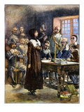 Anne Hutchinson (1591-1643) Prints by Edwin Austin Abbey