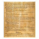 Constitution, 1787 Giclee Print