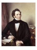Franz Schubert (1797-1828) Giclee Print by Wilhelm August Rieder