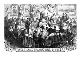 Immigration Cartoon, 1869 Posters by Thomas Nast