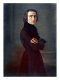 Franz Liszt (1811-1886) Giclee Print by Henri Lehmann