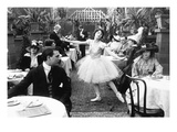 Silent Film Still: Dancing Giclee Print