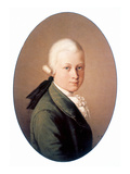 Wolfgang Amadeus Mozart Prints by Ludwig Bode
