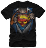 Superman - Reveal Camisetas