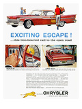 Chrysler Ad, 1959 Poster