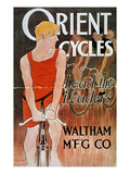 Orient Cycles Ad, c1895 Giclee Print by Edward Penfield