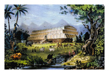 Noah's Ark Giclee Print by  Currier & Ives