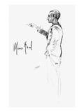 Maurice Joseph Ravel Giclee Print by Hilda Wiener