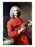 Jean Philippe Rameau Posters by Jean-Baptiste Simeon Chardin