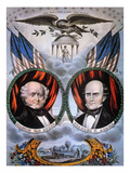 Presidential Campaign Giclee Print by Nathaniel Currier