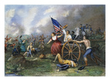 Molly Pitcher: Monmouth Giclee Print