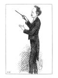 Richard Strauss (1864-1949) Giclee Print by Eduard Von Grutzner