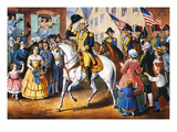George Washington Art by  Currier & Ives