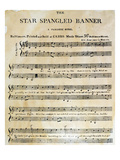 Star Spangled Banner, 1814 Posters
