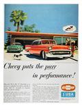 Chevrolet Ad, 1957 Prints