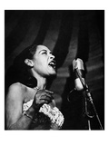 Billie Holiday (1915-1959) Giclee Print
