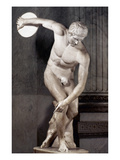 Greece: The Discobolus Giclee Print