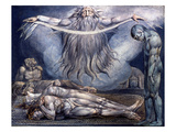 Blake: House of Death, 1795 Posters by William Blake