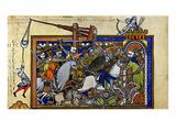 Medieval Warfare, c1250 Giclee Print