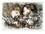 Thomas Nast: Christmas Giclee Print by Thomas Nast
