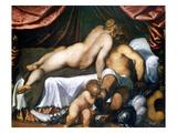 Giovane: Mars and Venus Print by  Palma Il Giovane