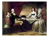 The Washington Family Prints by Edward Savage