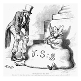 Nast: Inflation, 1873 Giclee Print by Thomas Nast
