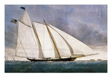 Clipper Yacht &#39;America&#39; Giclee Print by Nathaniel Currier