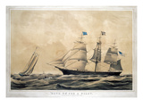 Clipper Ship 'Adelaide' Giclee Print by  Currier & Ives