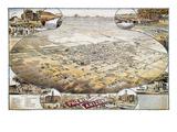 View of Phoenix, Arizona Giclee Print by C.J. Dyer