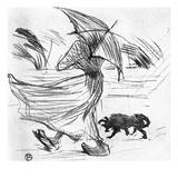 Ce Que Dit La Pluie, 1895 Prints by Henri de Toulouse-Lautrec