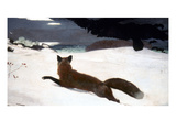 Homer: Fox Hunt, 1893 Giclee Print by Winslow Homer