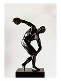The Discobolus Giclee Print by  Myron