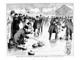 Curling, 1884 Prints