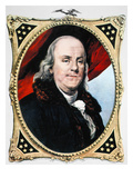 Benjamin Franklin Giclee Print by Nathaniel Currier