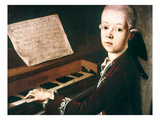 Wolfgang Amadeus Mozart Giclee Print by Franz Thaddaus Helbling