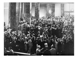 Silent Film Still: Crowds Prints