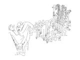 Igor Stravinsky (1882-1971) Giclee Print by Jean Cocteau