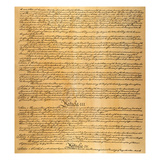 The Constitution, 1787 Giclee Print