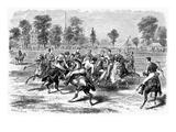 New York: Polo Club, 1876 Prints