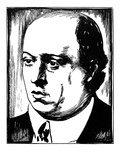 Arnold Schoenberg Giclee Print by Samuel Nisenson