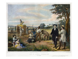 Washington the Farmer Giclee Print
