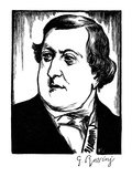 Gioacchino Rossini Giclee Print by Samuel Nisenson