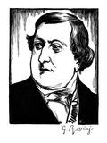 Gioacchino Rossini Giclee Print by Samuel Nisenson