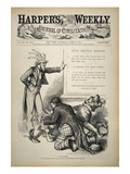 Nast: Civil Service Reform Posters by Thomas Nast