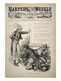 Nast: Civil Service Reform Posters by Thomas Nast