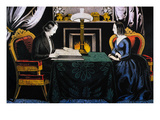 Reading the Scriptures Giclee Print by Nathaniel Currier